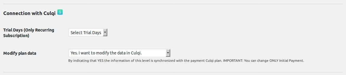Culqi Gateway for Paid Memberships Pro Screenshot 2