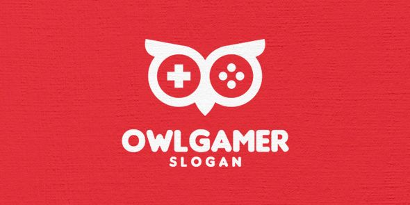 Owl Gamer Logo Template Screenshot 3