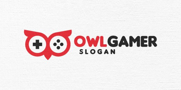 Owl Gamer Logo Template Screenshot 4