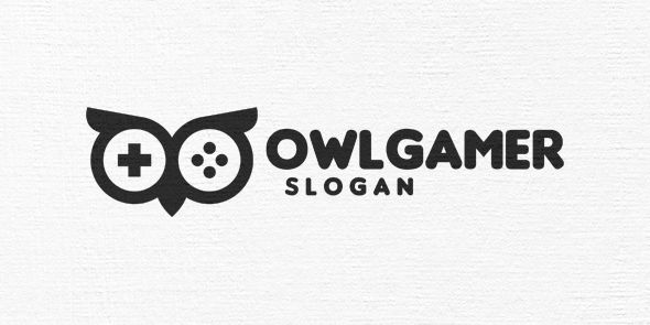 Owl Gamer Logo Template Screenshot 6