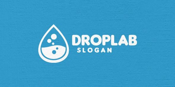 Drop Lab Logo Template Screenshot 5