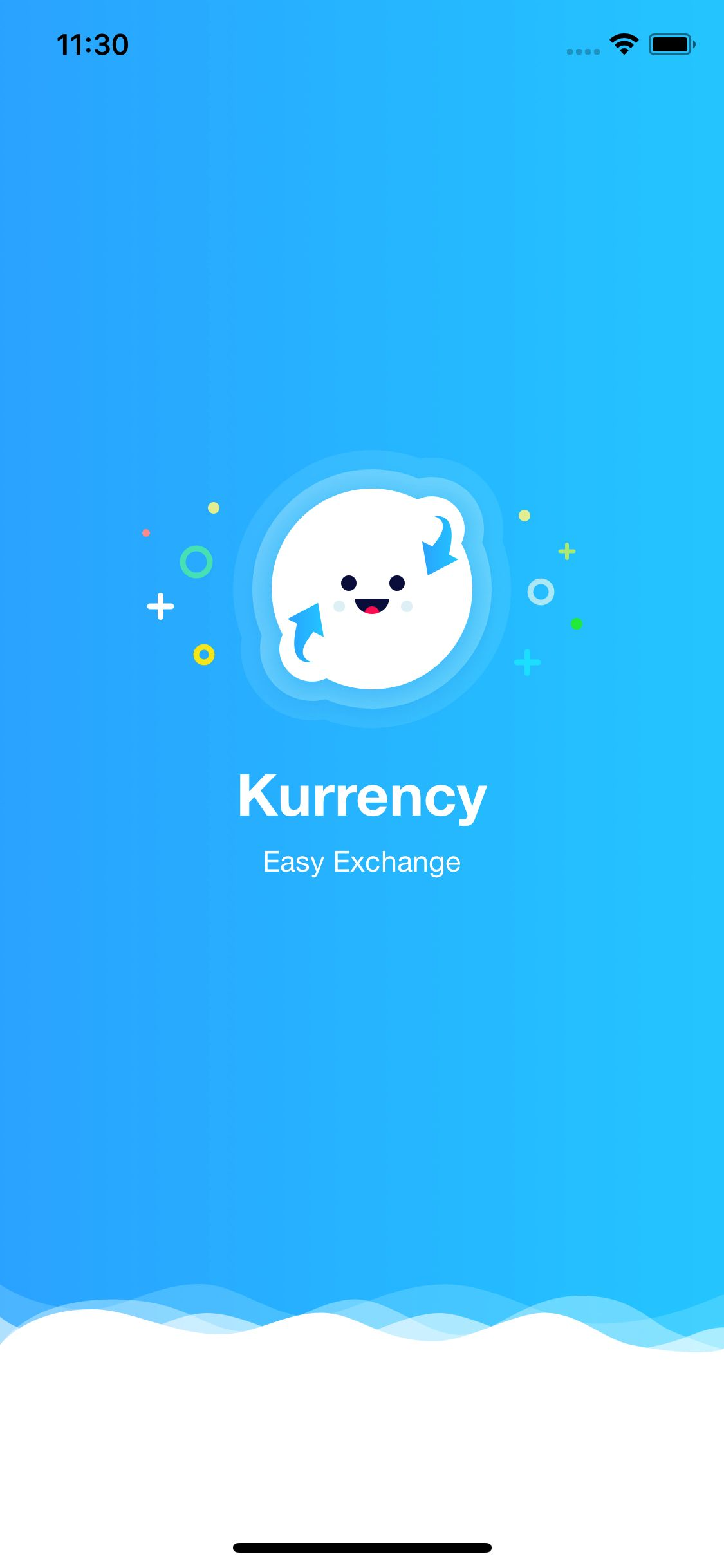 Kurrency - Currency Converter iOS Template Screenshot 1