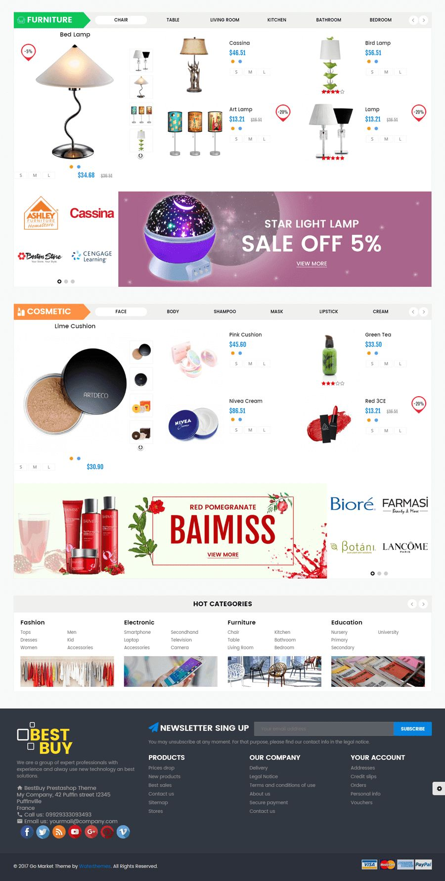 Best Buy PrestaShop Theme Screenshot 3