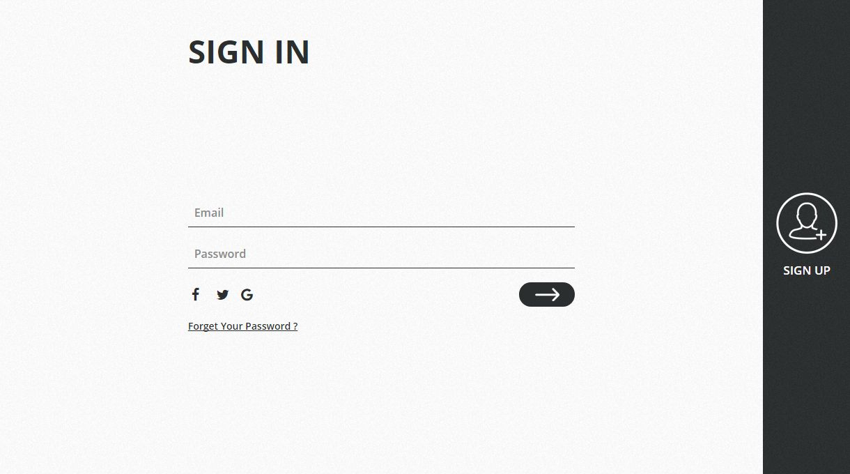 Dosto Login Page -  CSS  jQuery Screenshot 4