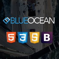 BlueOcean - One Page HTML Template
