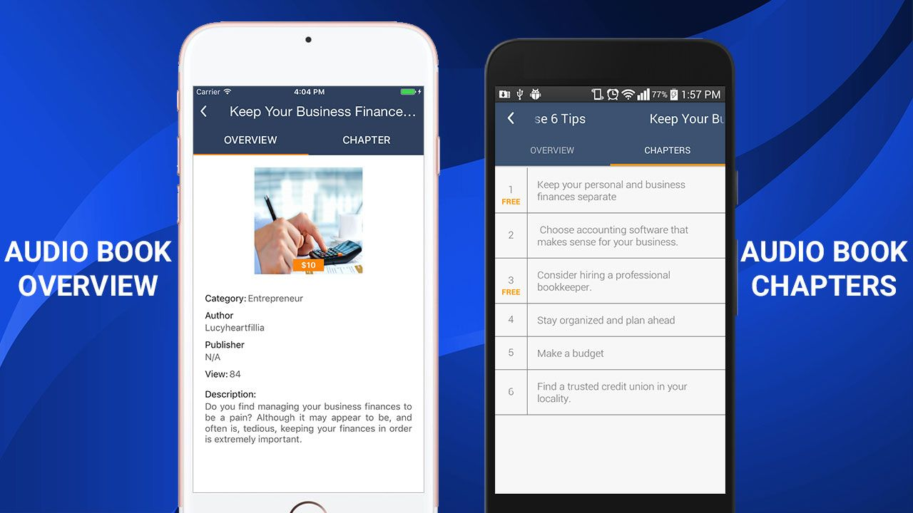 Application road book android apps