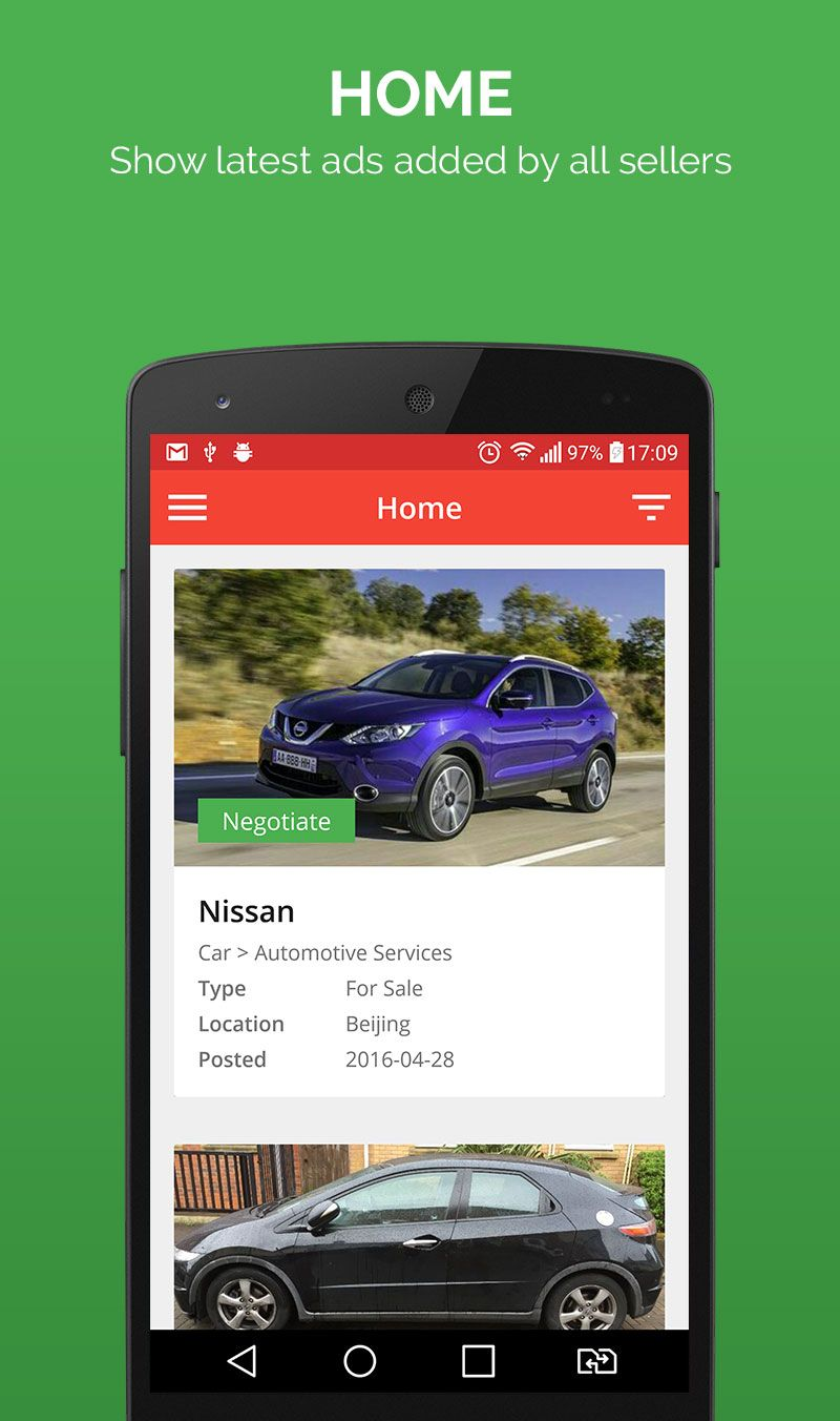 Smart Ads - Android App Template Screenshot 2
