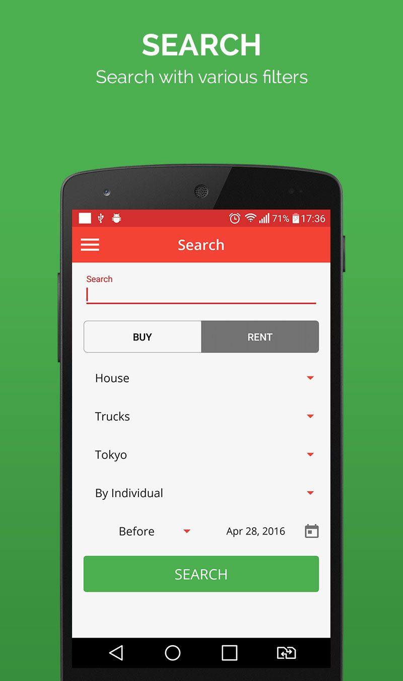 Smart Ads - Android App Template Screenshot 5