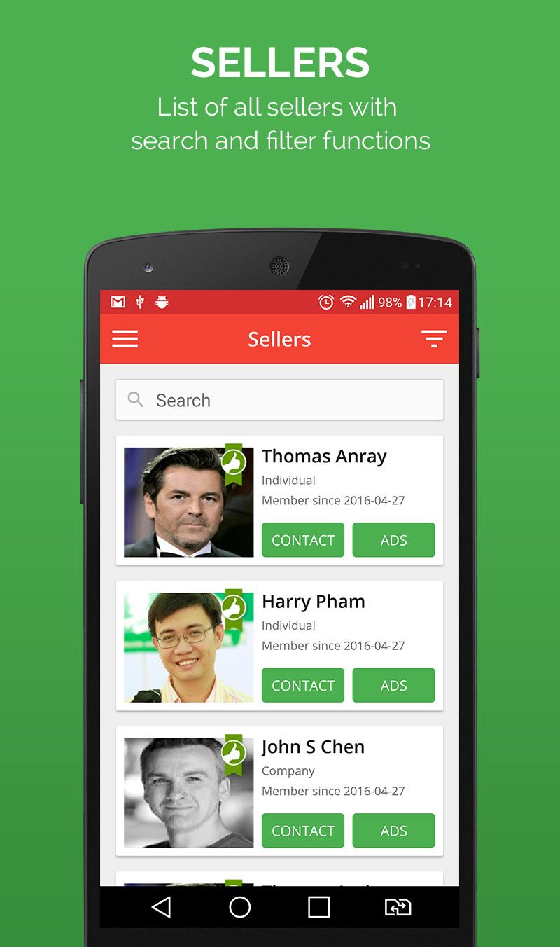 Smart Ads - Android App Template Screenshot 7