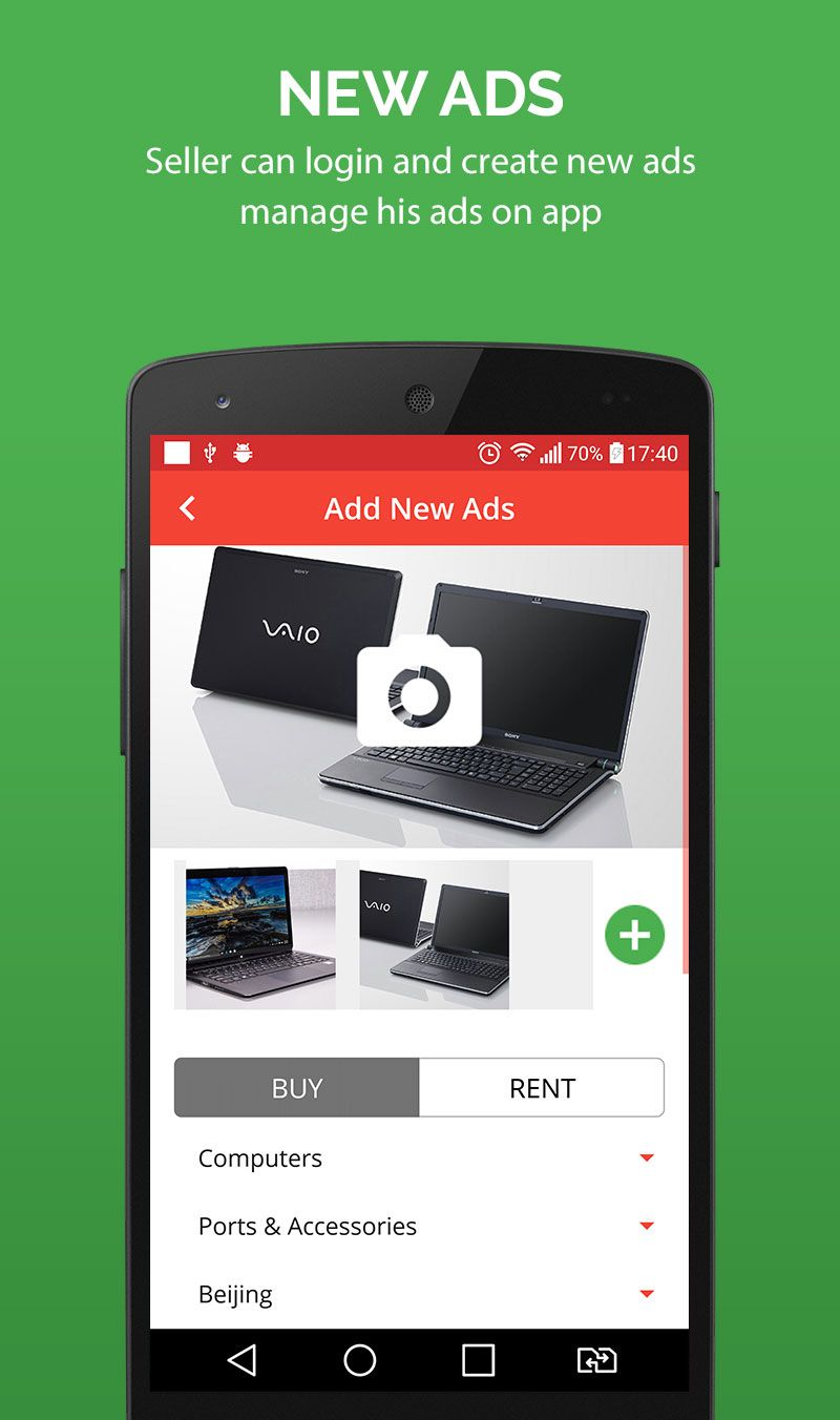 Smart Ads - Android App Template Screenshot 8