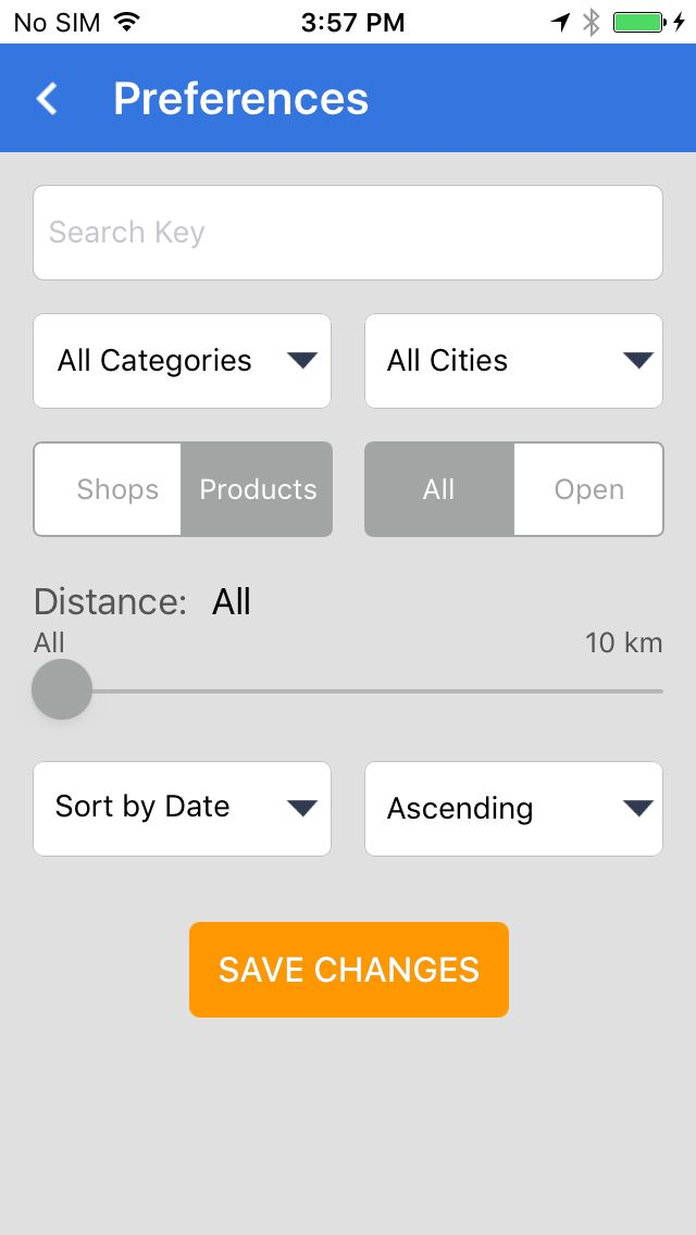 Marketplace - iOS App Template Screenshot 6