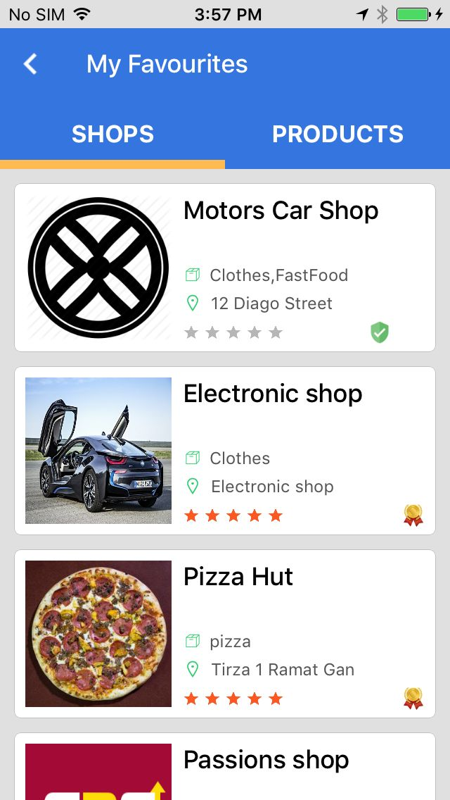 Marketplace - iOS App Template Screenshot 7