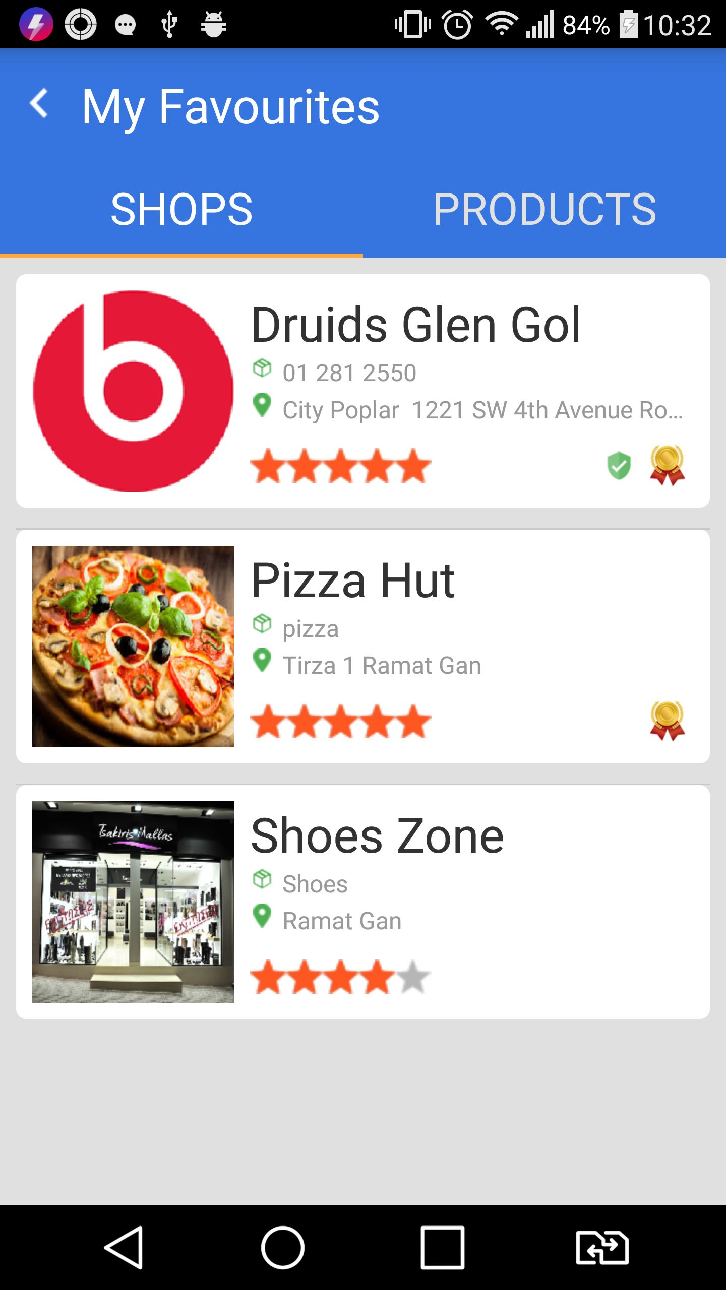 Marketplace - Android App Template Screenshot 7