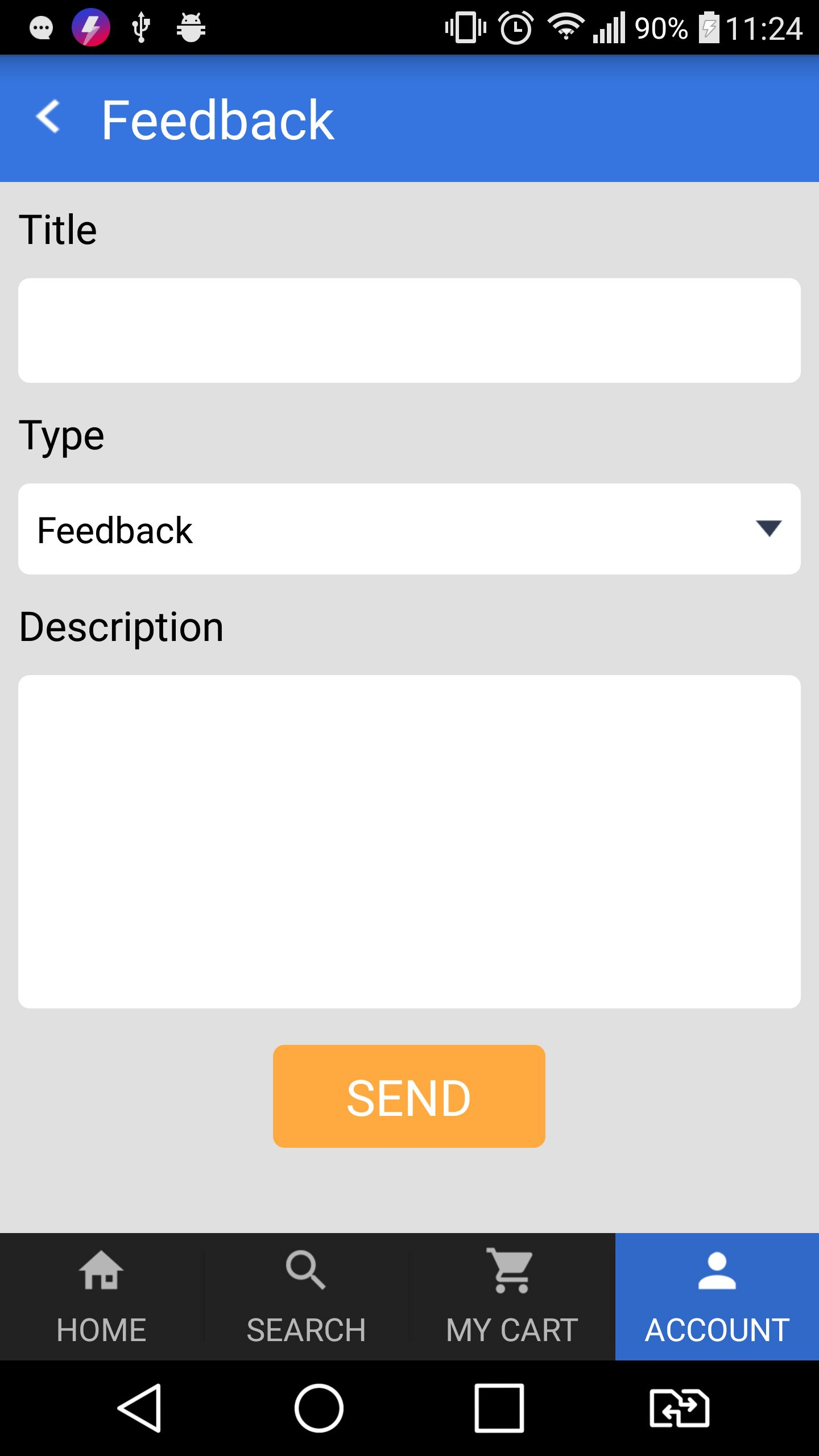 Marketplace - Android App Template Screenshot 12