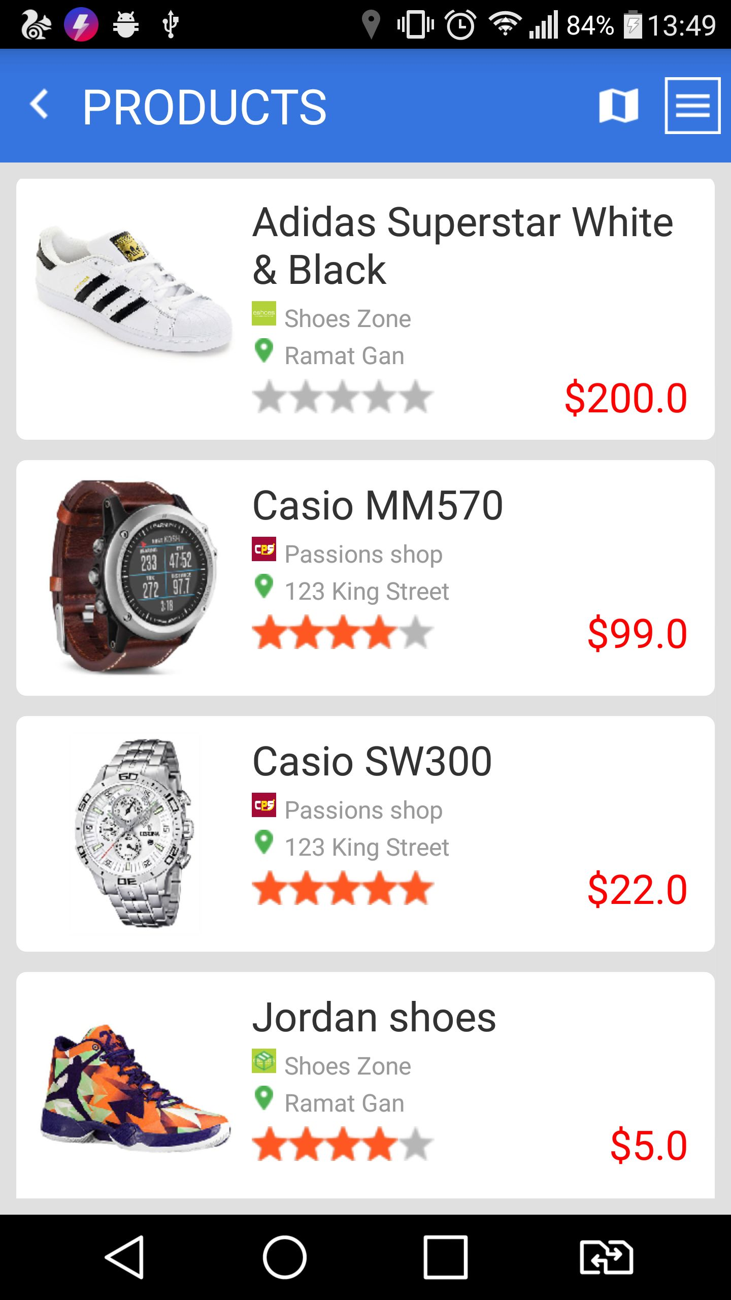 Marketplace - Android App Template Screenshot 15