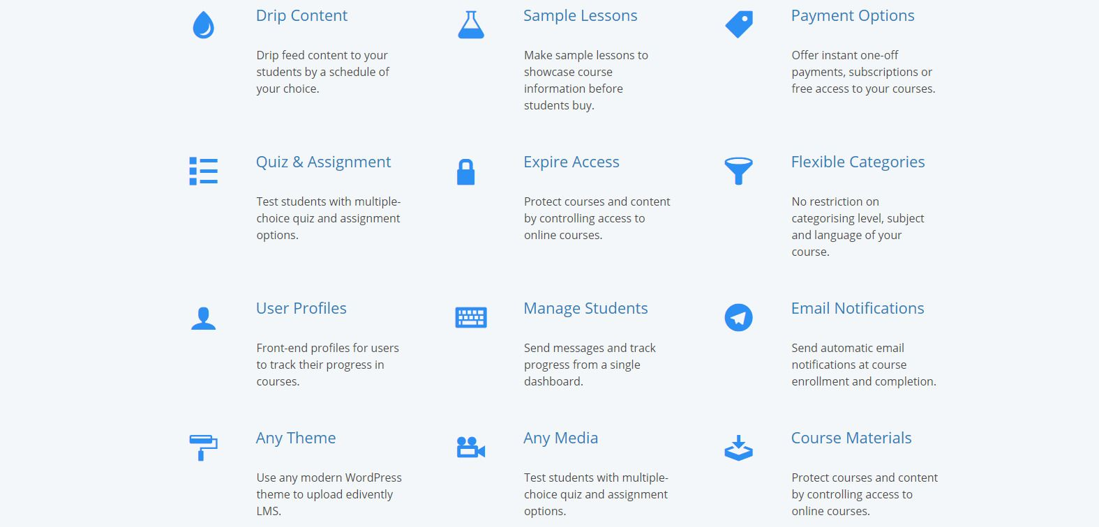 Edivently - Sell Courses WordPress Plugin Screenshot 2