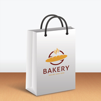 Paper Bag Product Mock-up