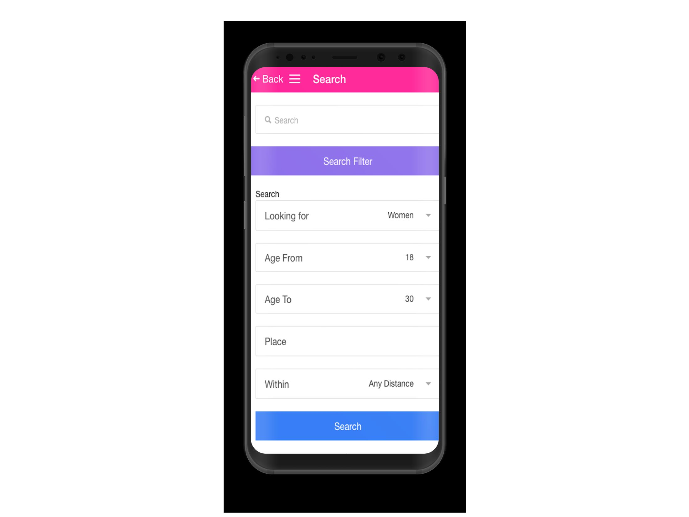 Dating Mobile App Ionic with Full PHP Admin SQL Screenshot 5
