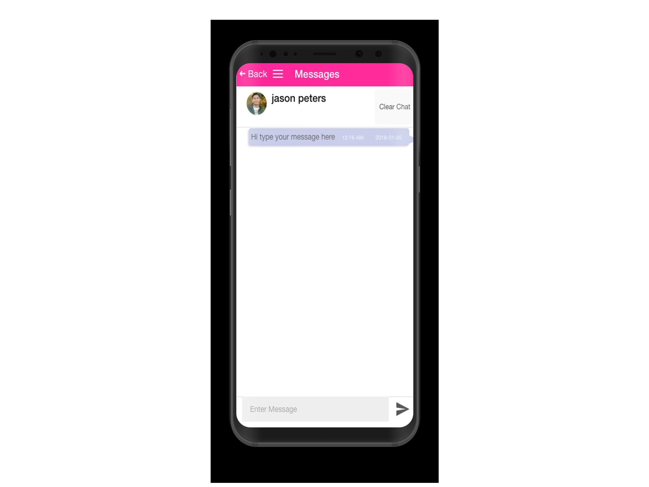 Dating Mobile App Ionic with Full PHP Admin SQL Screenshot 6