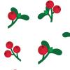 mistletoe-patterns
