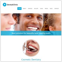 DentalClinic - Medical Wordpress Theme