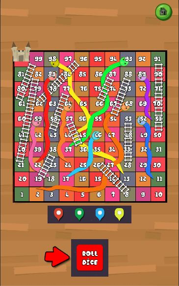 Snake And Ladder Game - Unity3D Source Code Screenshot 6