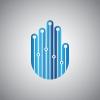 tech-hand-logo-template