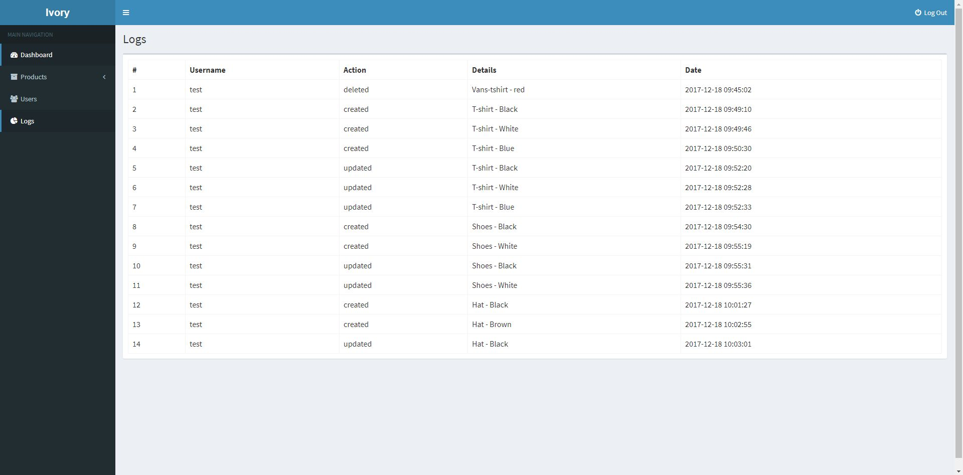 Ivory Admin Panel - Laravel CMS Screenshot 8