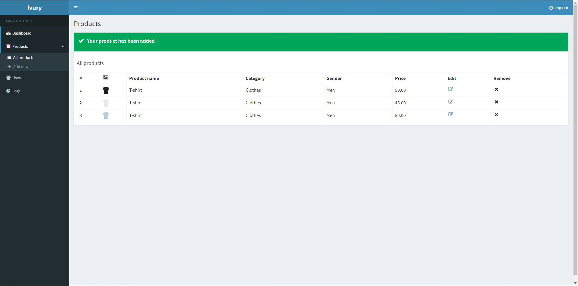 Ivory Admin Panel - Laravel CMS Screenshot 9