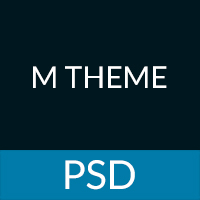 MTheme - Multi-Purpose One Page PSD Template