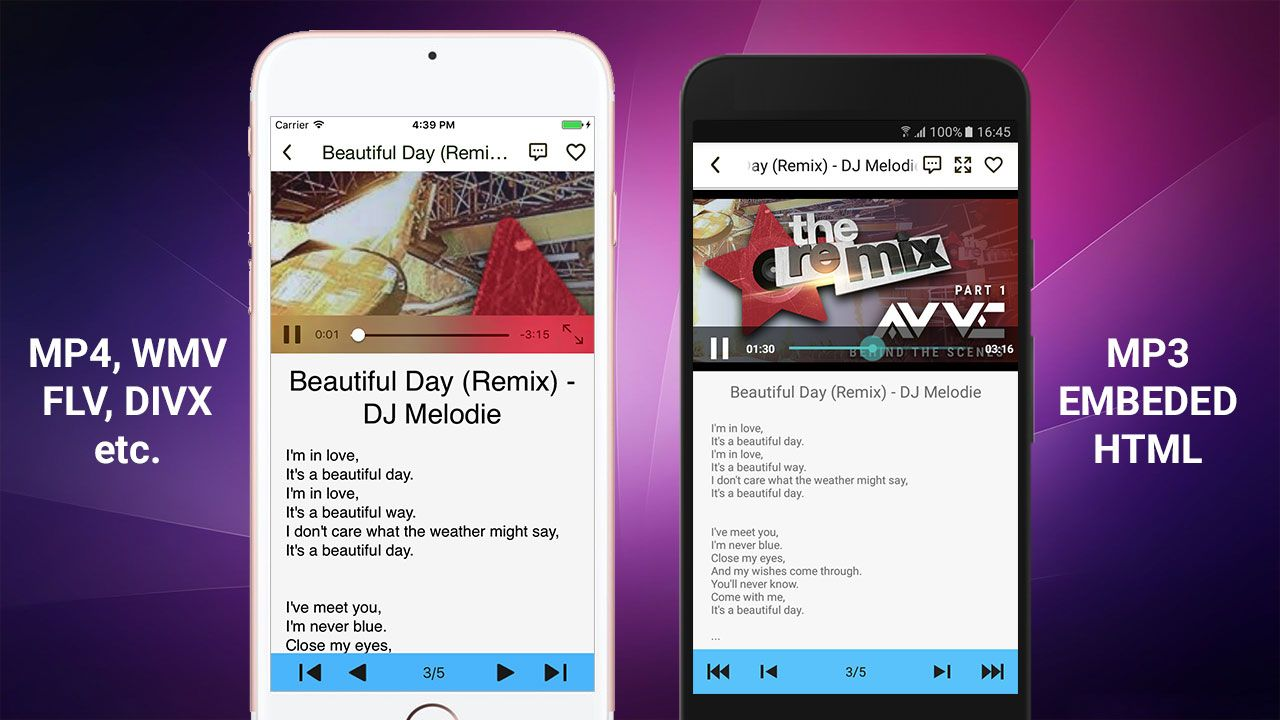 E-Music Store - Android App Template Screenshot 6