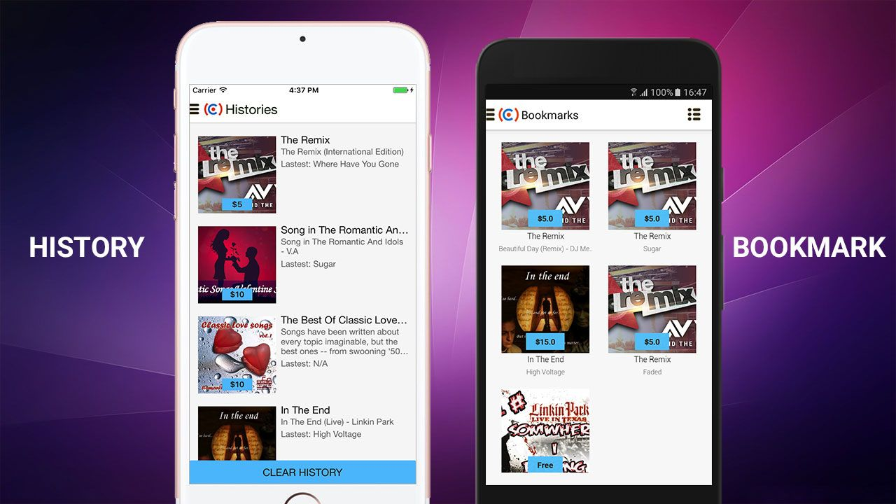 E-Music Store - Android App Template Screenshot 9