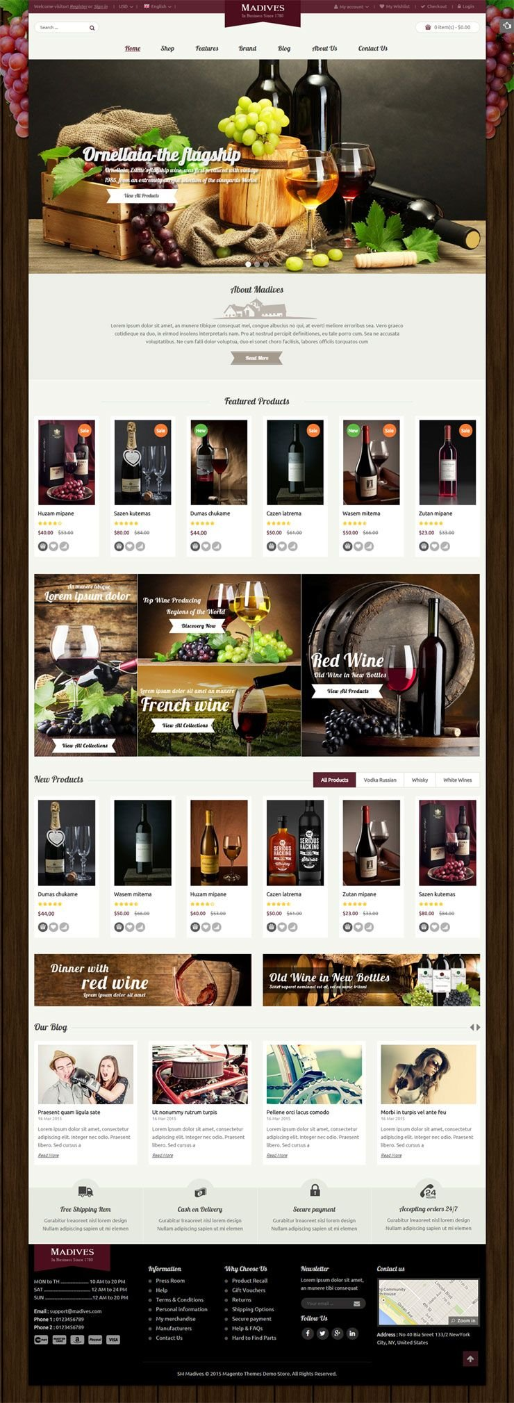 SM Madives - Responsive Multipurpose Magento Theme Screenshot 2
