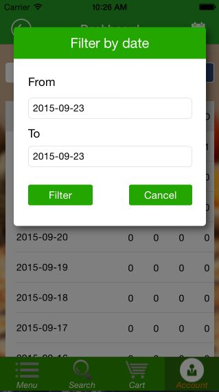 Food Ordering - iOS Source Code Screenshot 15