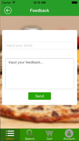 Food Ordering - iOS Source Code Screenshot 21