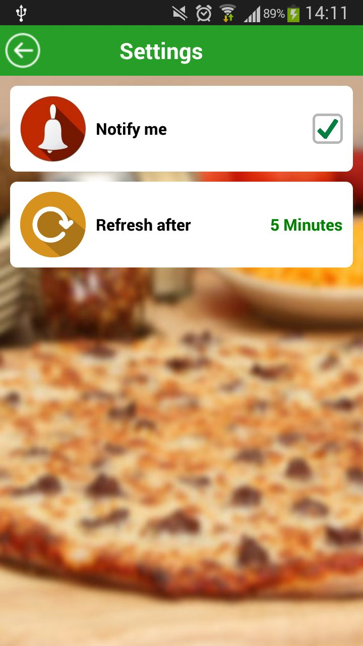 Food Ordering - Android Source Code Screenshot 13