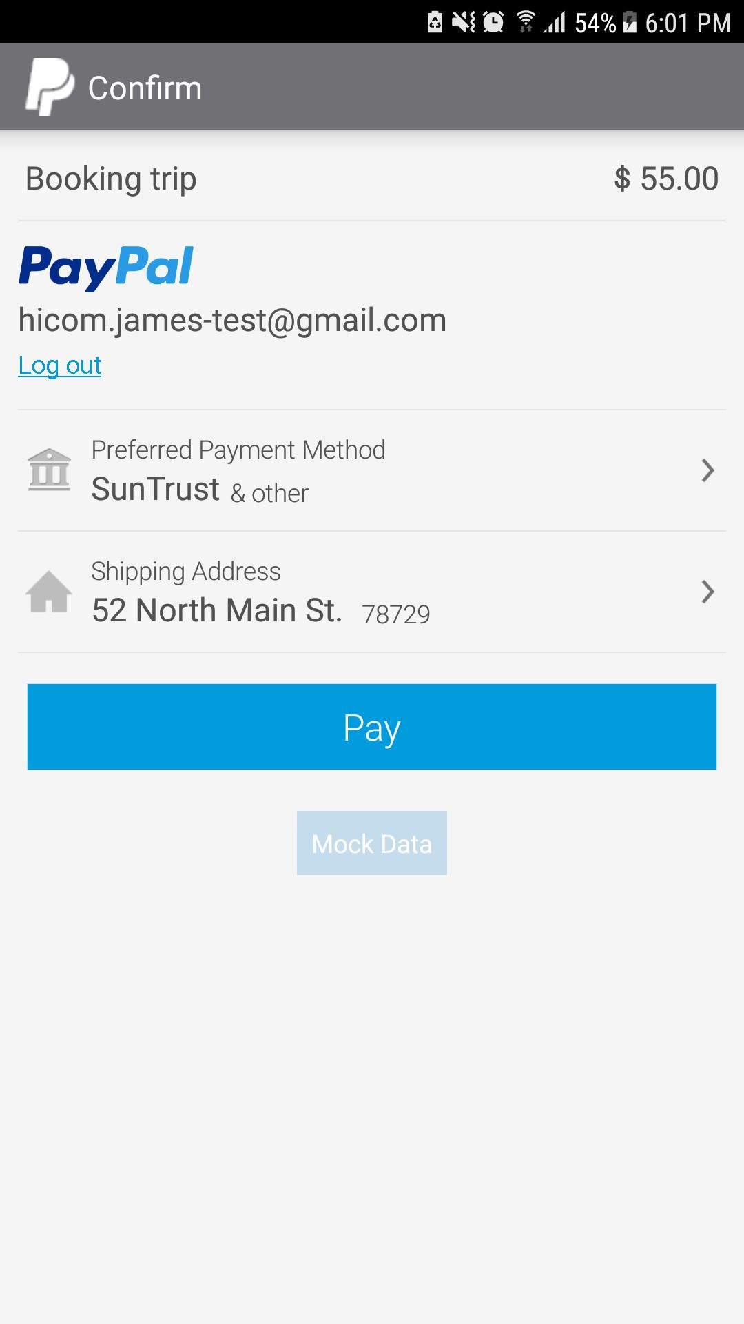 Bus Ticket Booking - Android App Source Code Screenshot 9