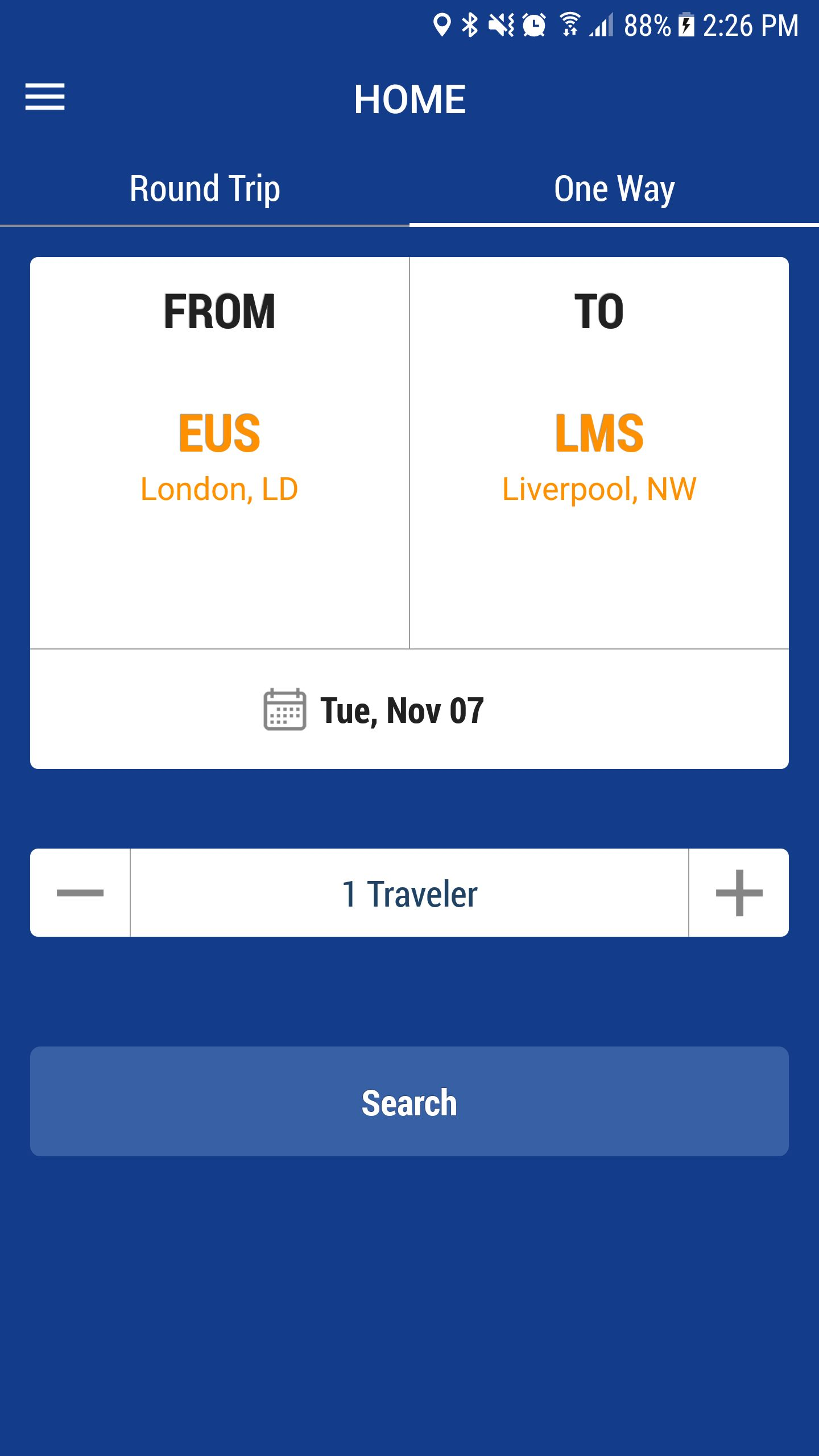 Bus Ticket Booking - Android App Source Code Screenshot 10