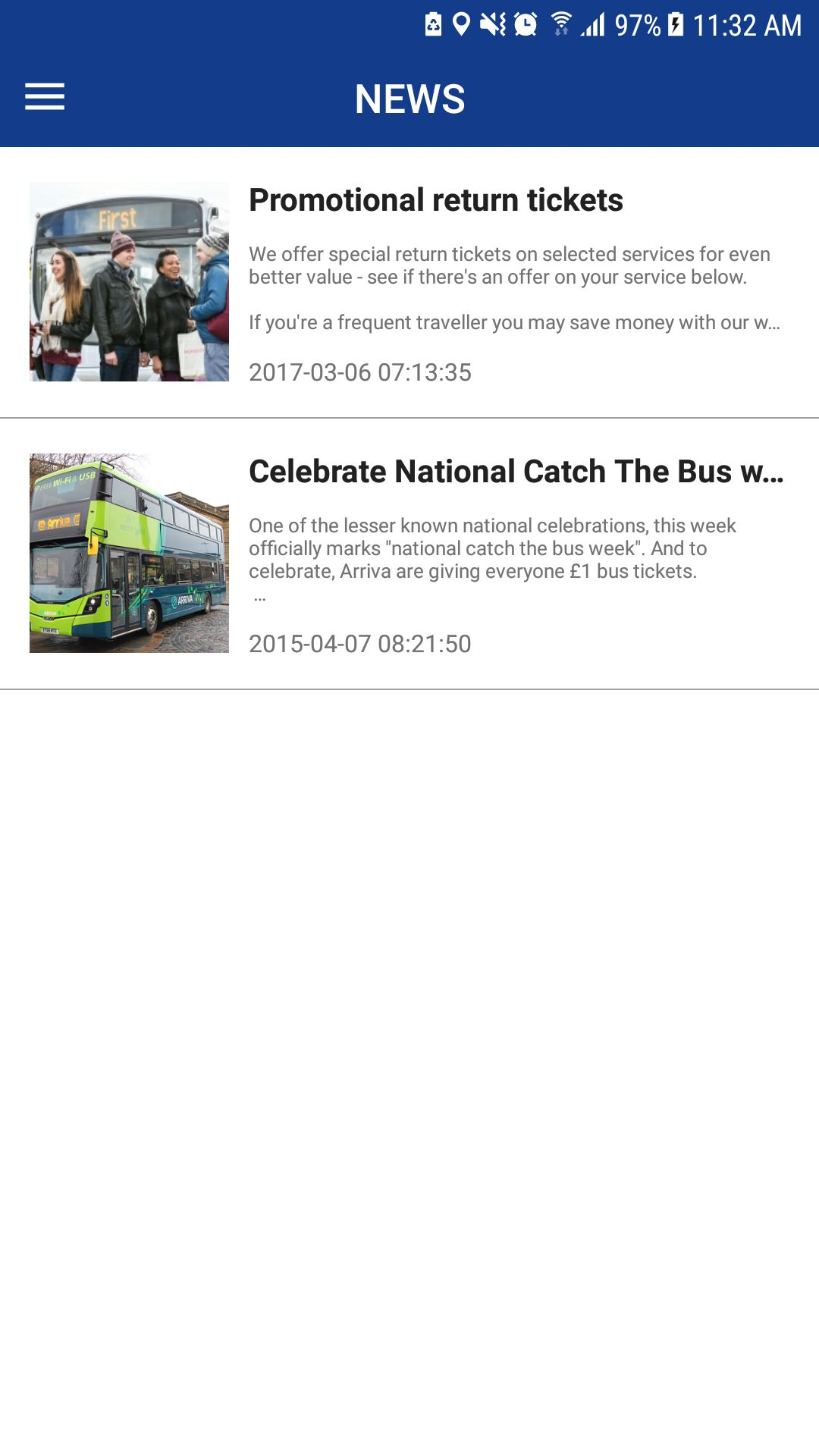 Bus Ticket Booking - Android App Source Code Screenshot 17
