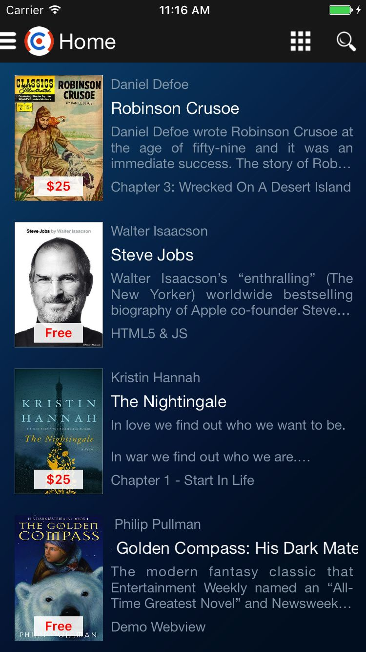 Bookstore - iOS Source Code Screenshot 24