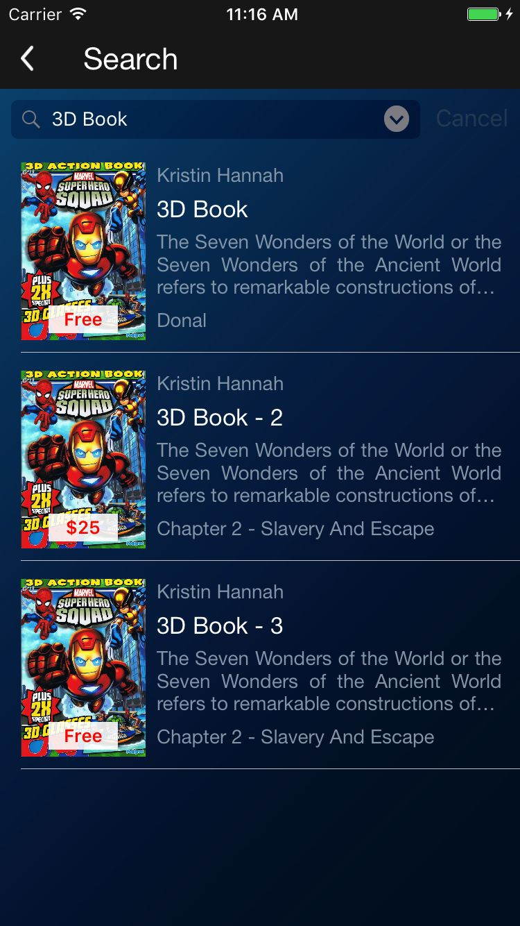 Bookstore - iOS Source Code Screenshot 26