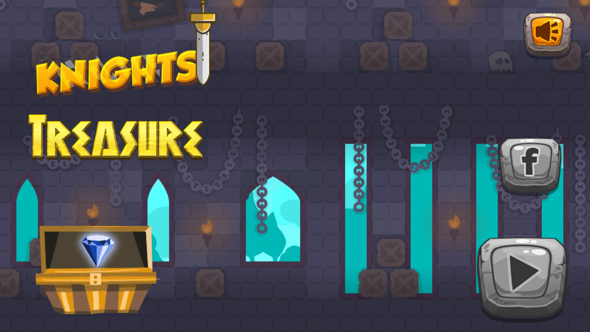 Knight Treasure - Unity Complete Project Screenshot 1