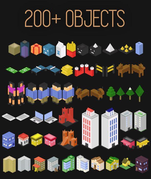 Isometric Game Art Pack