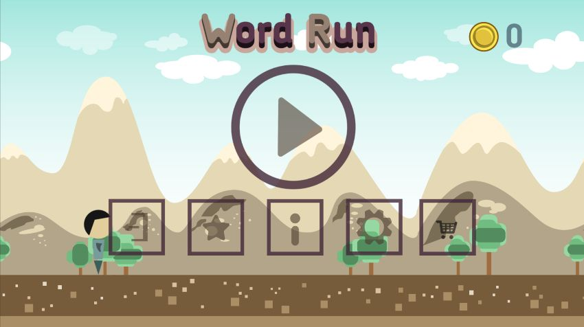 Word Run Hero - Unity Source Code Screenshot 1