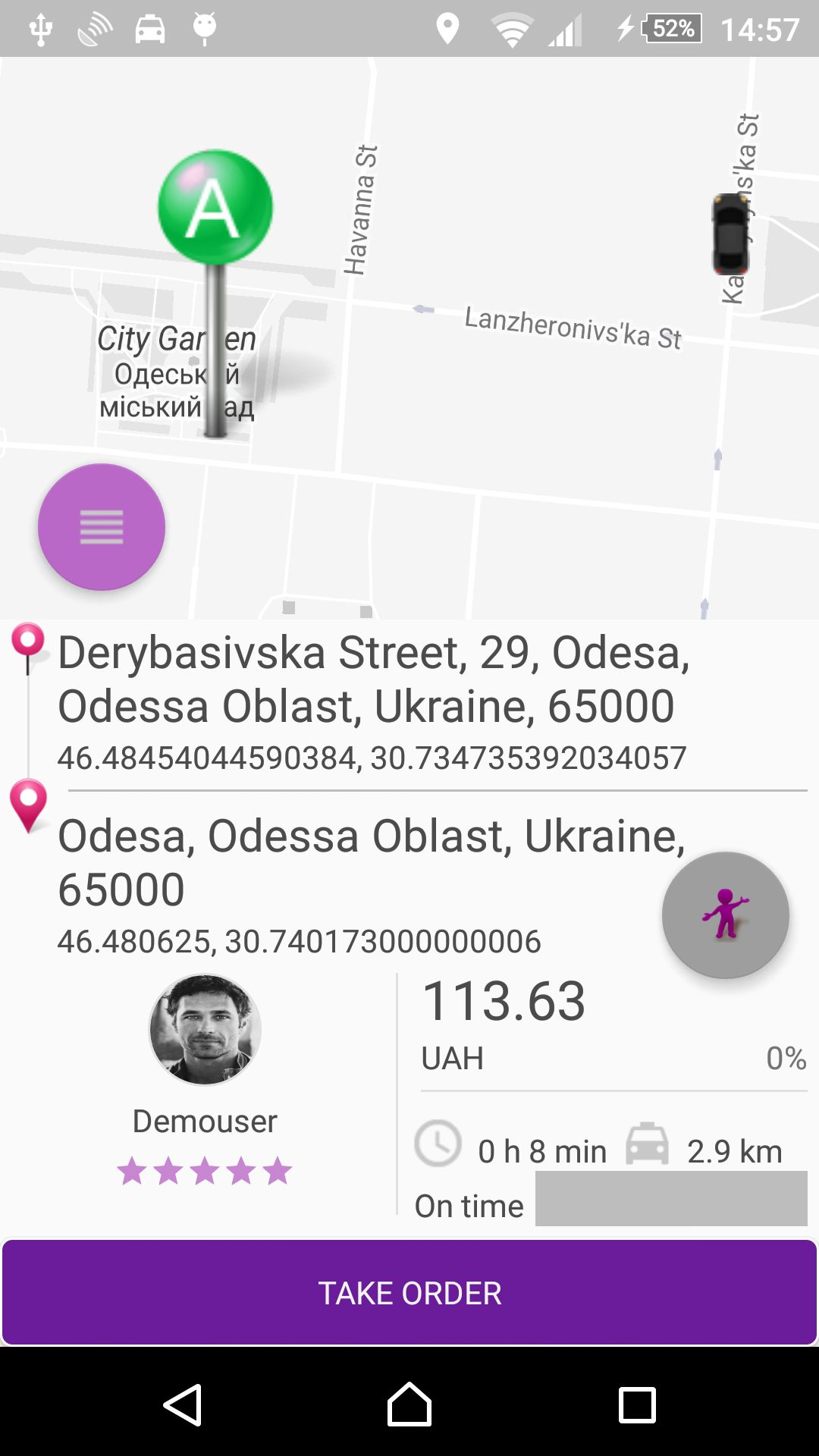 VIP Taxi - Android Source Code And Backend Screenshot 21