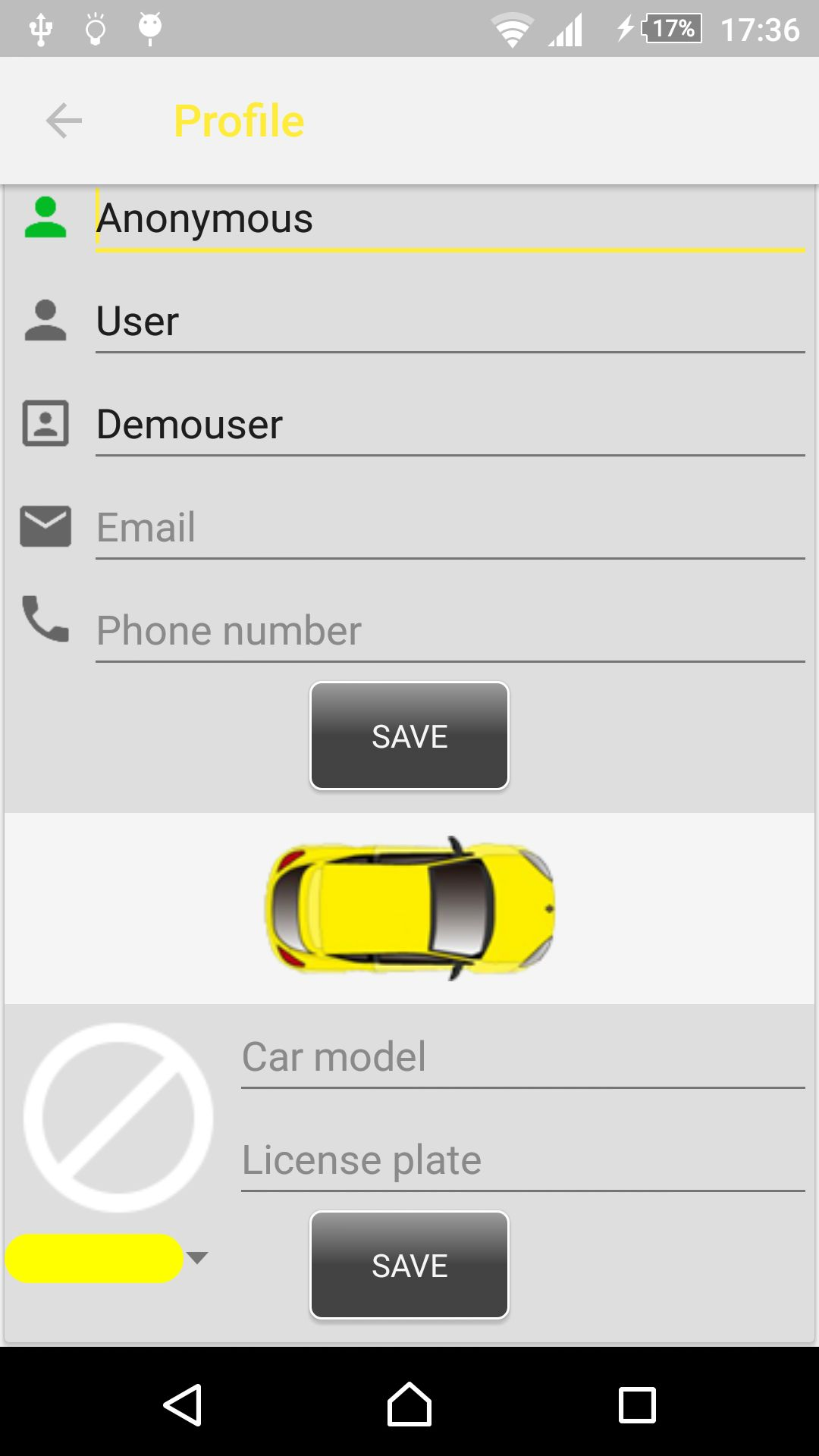 Car Rental - Android Source Code With Backend Screenshot 17