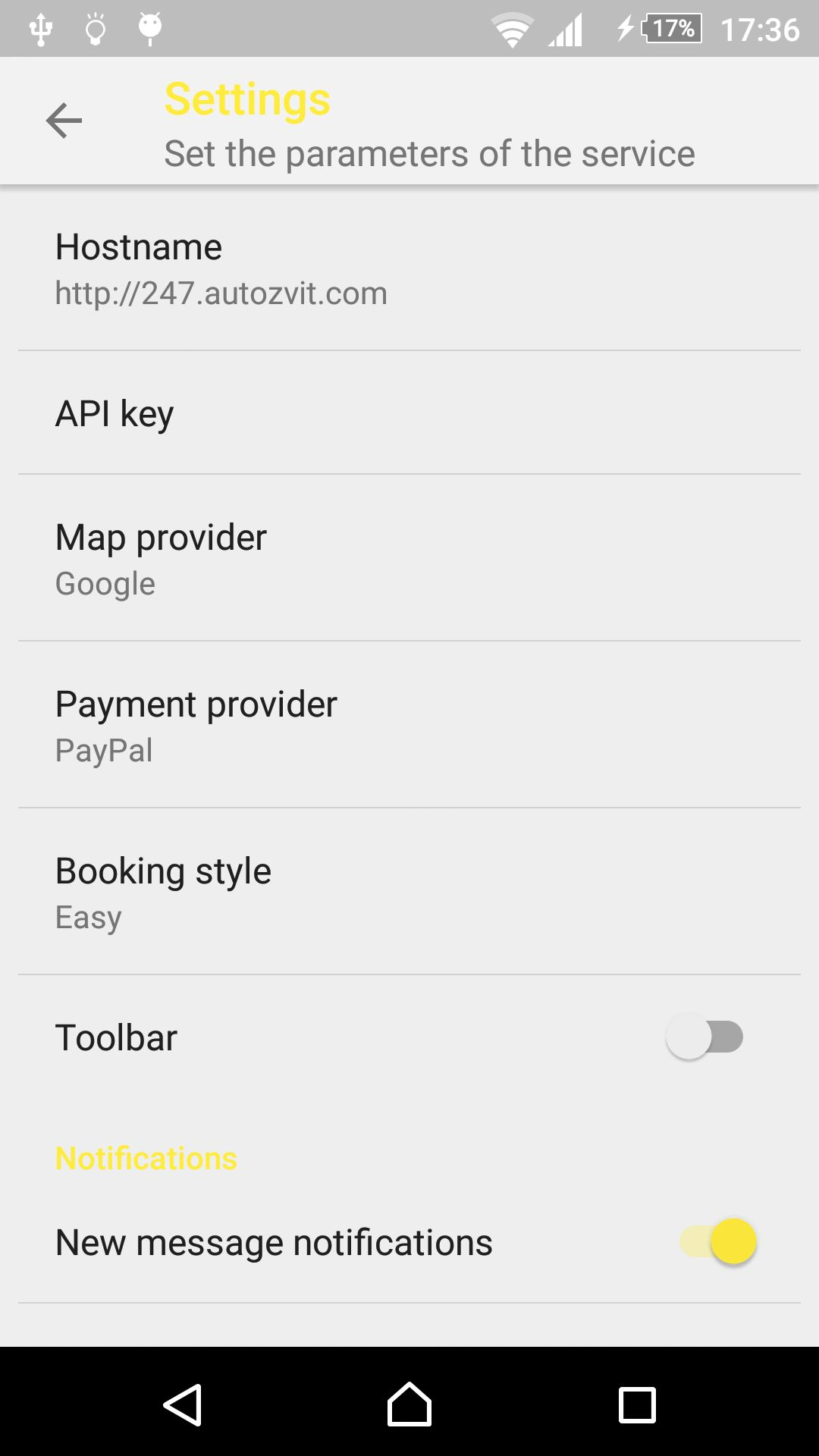 Car Rental - Android Source Code With Backend Screenshot 18