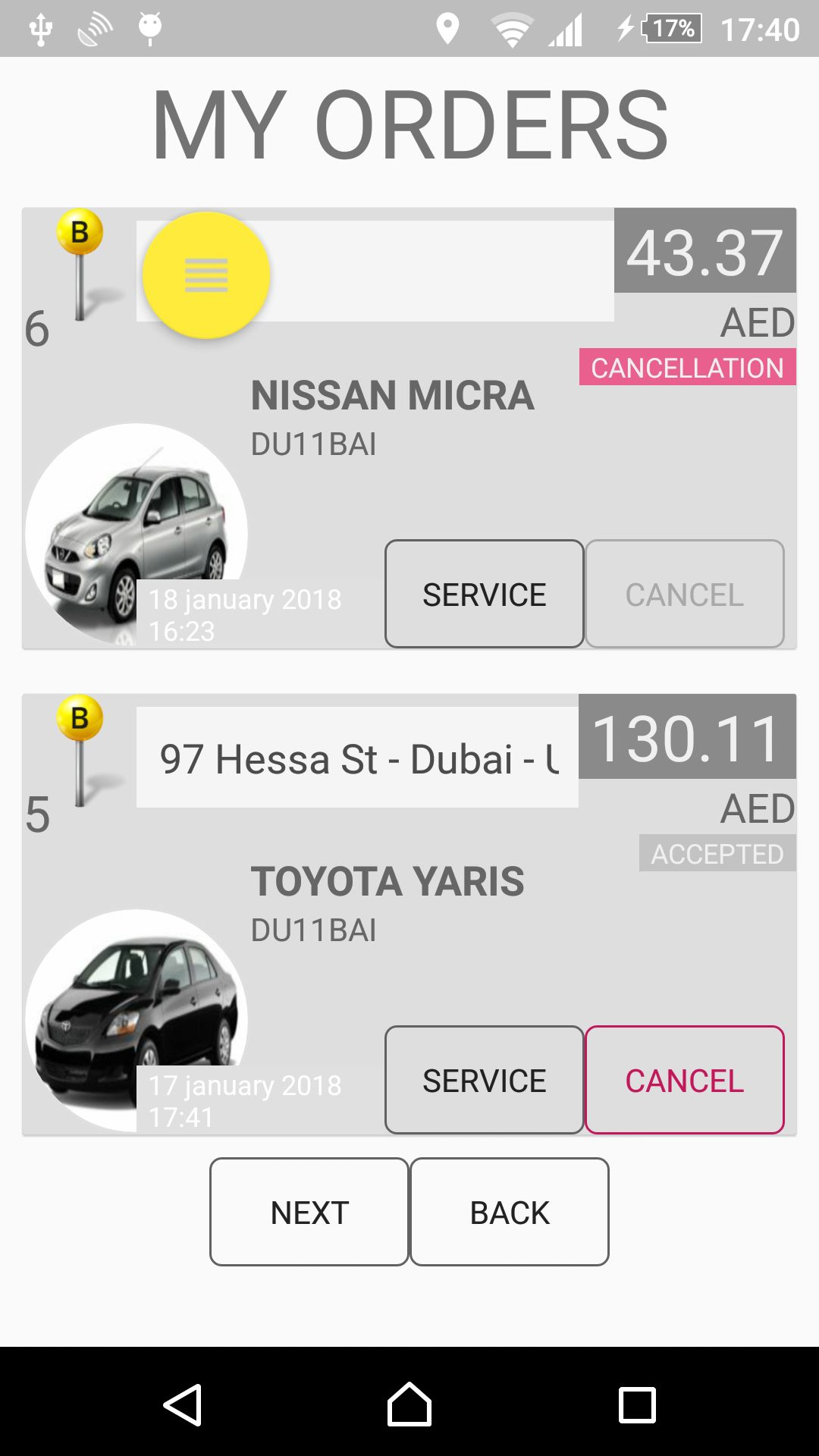 Car Rental - Android Source Code With Backend Screenshot 20
