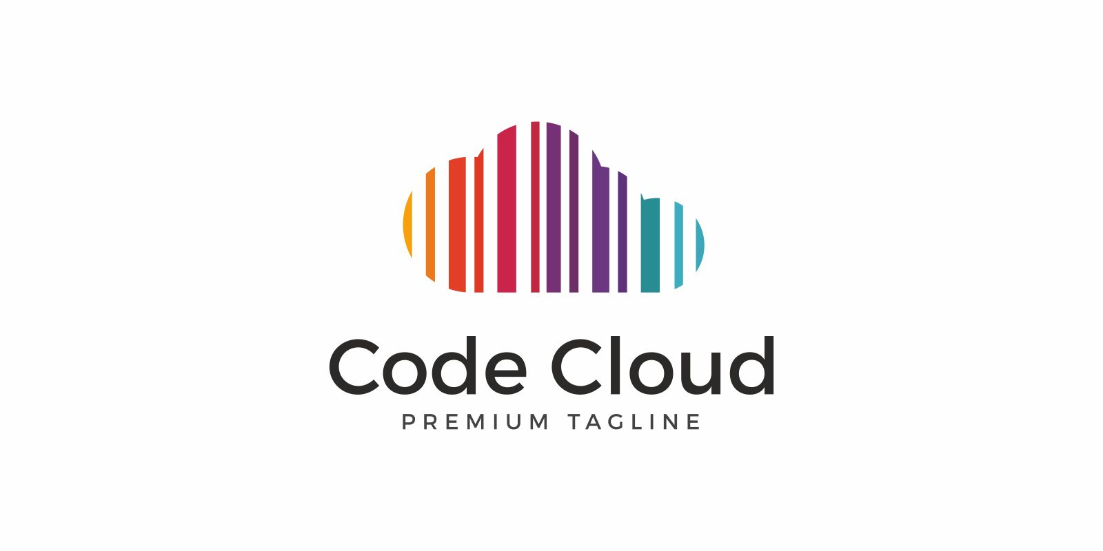 Code Cloud Colorful Logo Screenshot 1