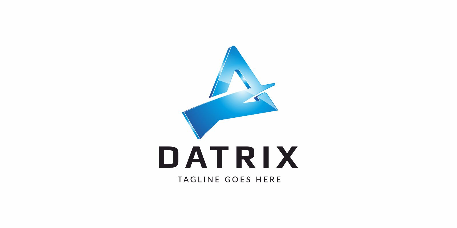Datrix  Logo Template Screenshot 1